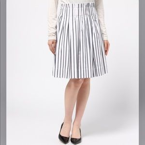 Kate Spade Broom Street Striped Skirt